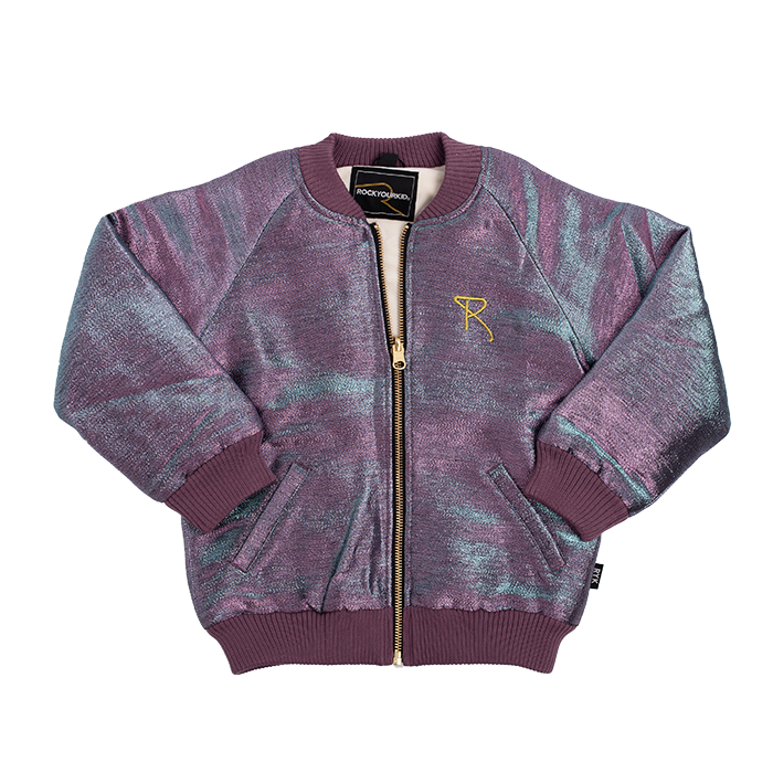 Rock Your Baby_Purple/Blue Shimmer Jacket - The Child Hood
