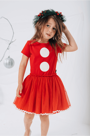 Rock Your Baby_Santa Baby SS Circus Dress - The Child Hood