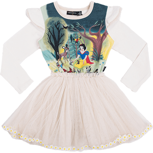 Snow White and Friends Long Sleeve Circus Dress