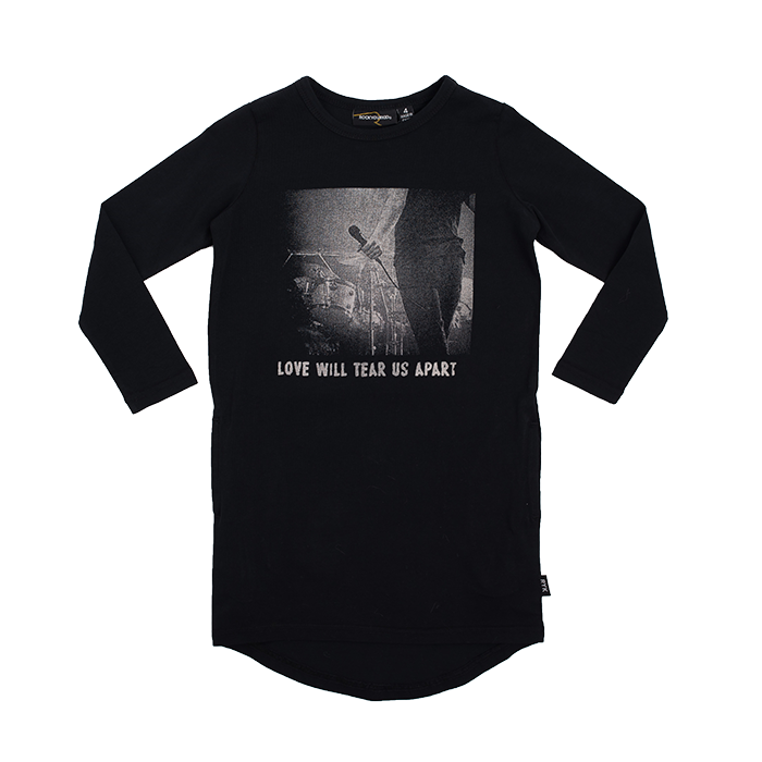 Rock Your Baby_Tear Us Apart Long Sleeve T-Shirt Dress - The Child Hood