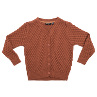 Vintage Cardigan - Brown