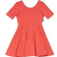 Rock Your Baby_Mabel Dress - Red - The Child Hood