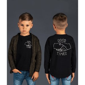 Rock Your Baby_Good Times Long Sleeve T-Shirt - The Child Hood