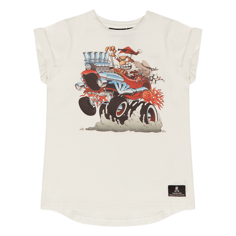 Santas Hot Rod T-Shirt