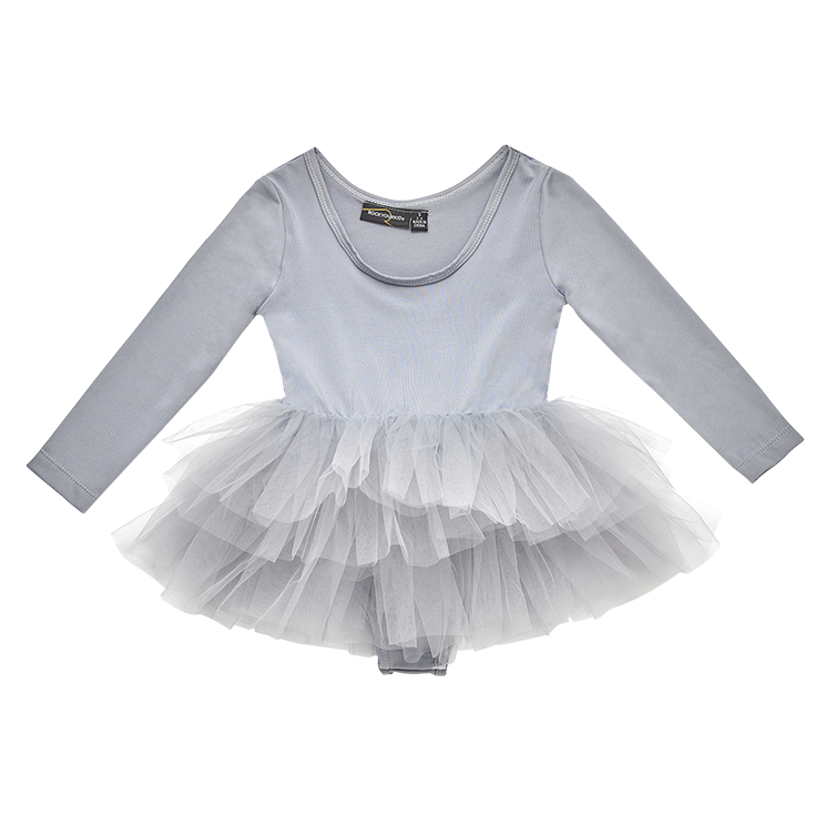 Rock Your Baby_Grey Dancer- Tutu - The Child Hood