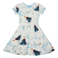 Frozen Holidays Waisted Dress