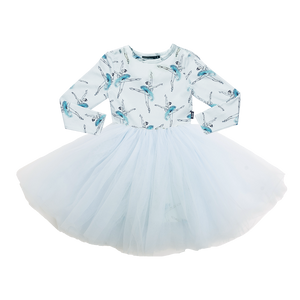 Rock Your Baby_Let's Dance Long Sleeve Flounce Dress - The Child Hood