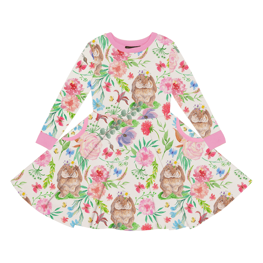 Bunny  Blossom Waisted Dress
