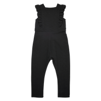 Rock Your Baby_Black Sleeveless  Jumpsuit - The Child Hood