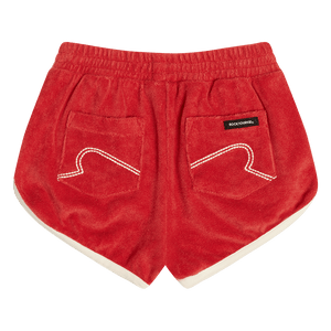 Red Happy Short