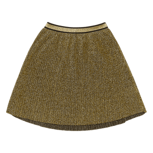 Rock Your Baby_Metallic Gold Shimmer Skirt - The Child Hood