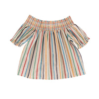 Ziggy Top Multi Stripe