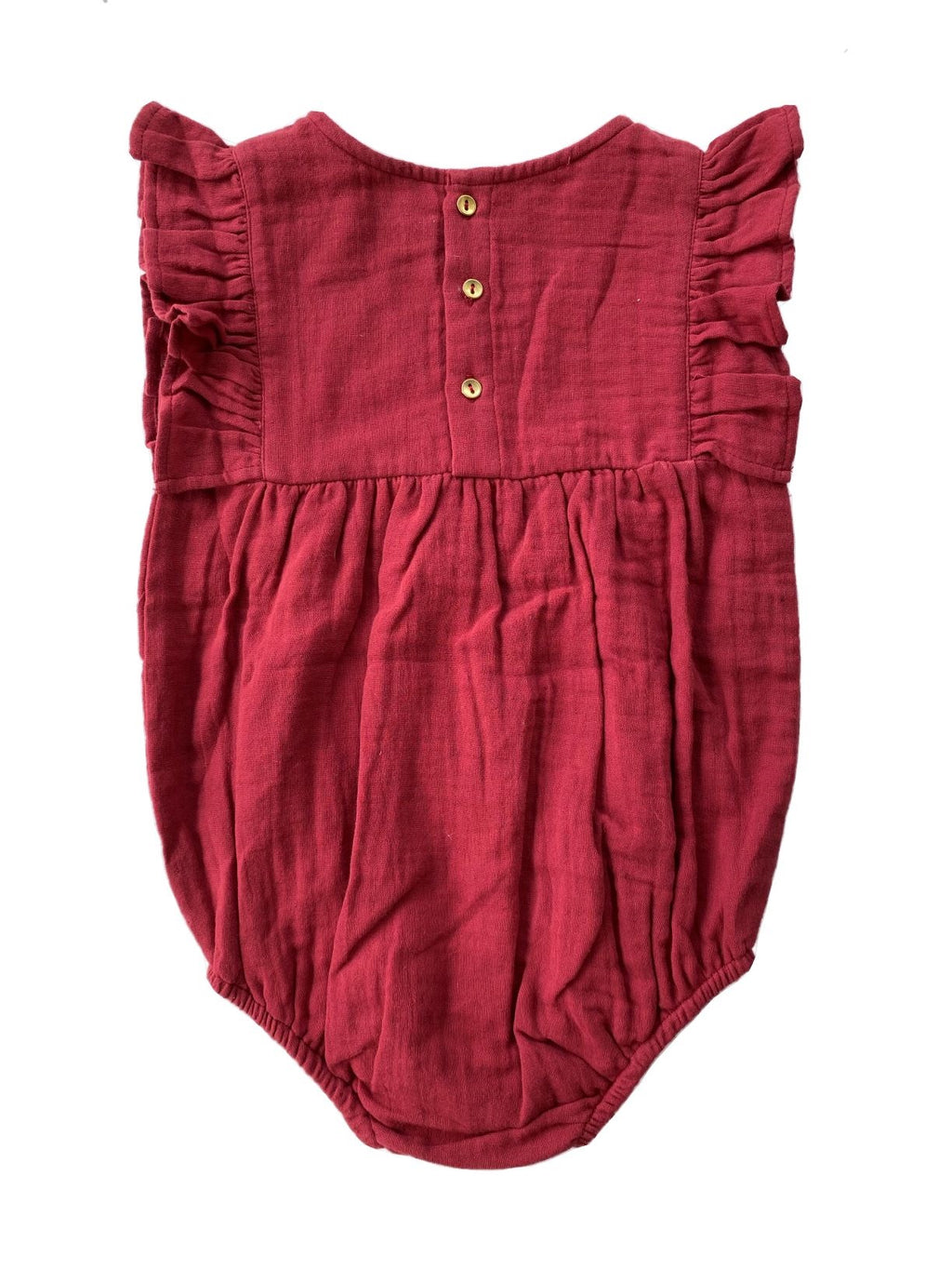 Baby Wings suit - Claus Red