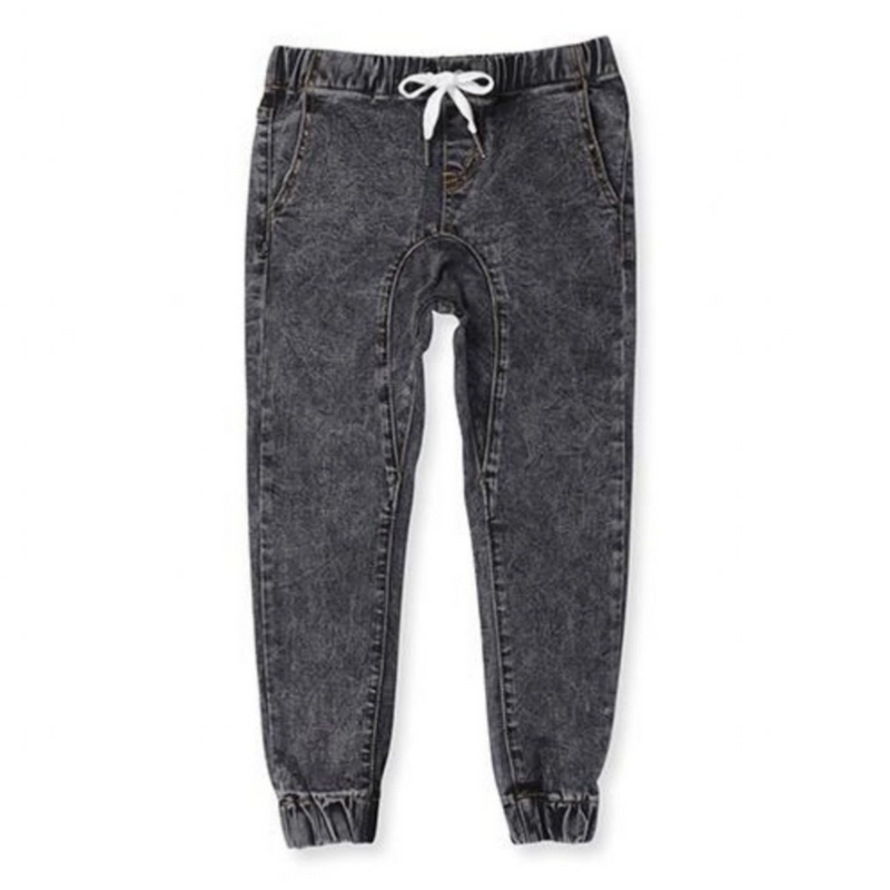 Minti_Denim Joggers - The Child Hood