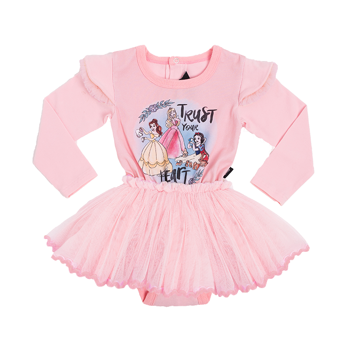 Princesses Long Sleeve Baby Circus Dress