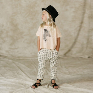 Rylee & Cru_Horse Boxy Tee - The Child Hood