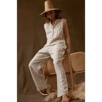 Feather Drum_Women's Dillon Jumpsuit - The Child Hood
