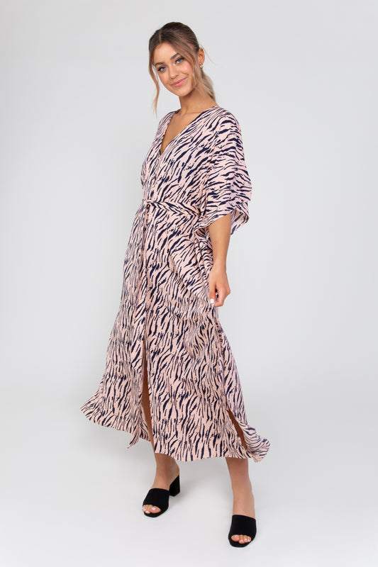 Kaftan Zebra Dress
