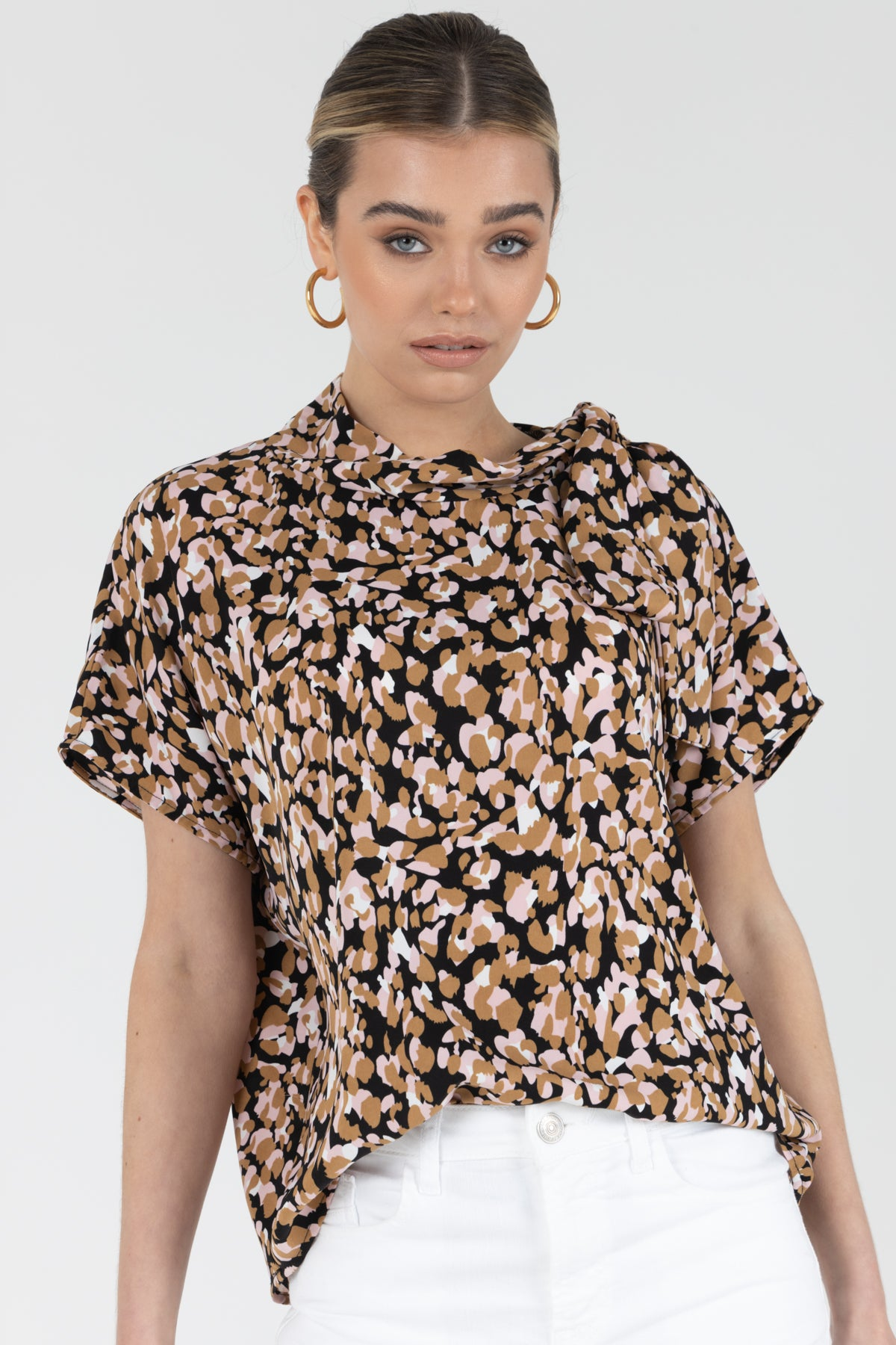 Debbie Pussy Bow Blouse