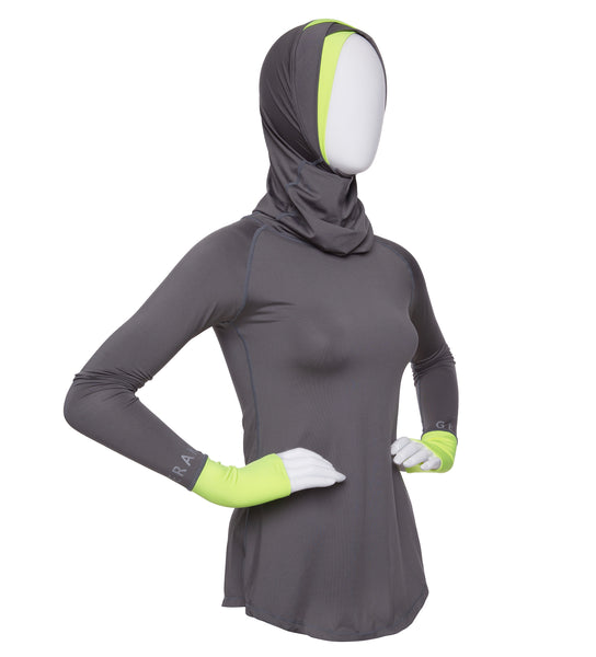 Baselayer with Double V Hijab