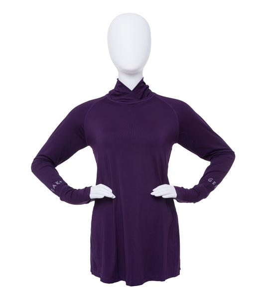 Peplum Modest Sports Top