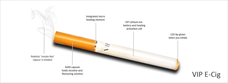 What is an e-cigarette made of?