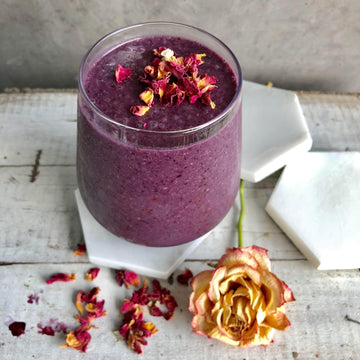 Berry and Rose Smoothie