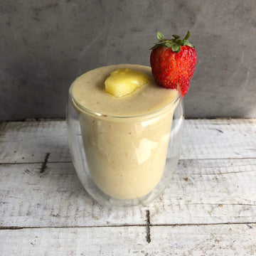 Vanilla Hemp & Pineapple Smoothie