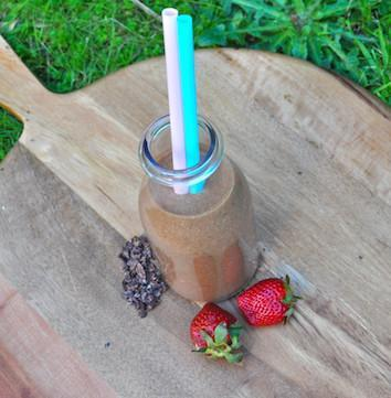 Choc Chip Strawberry Smoothie