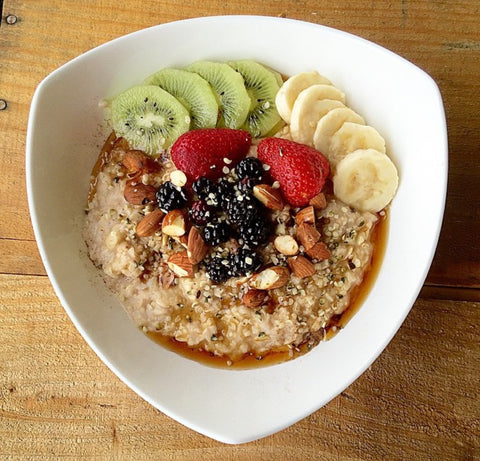 vegan chai porridge recipe