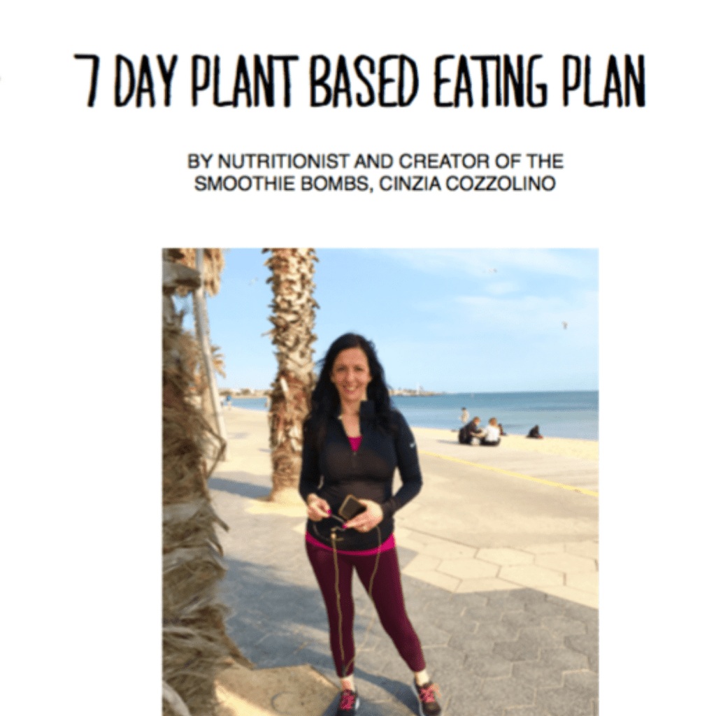 The Smoothie Bombs 7 Day Plant Based Eating Plan
