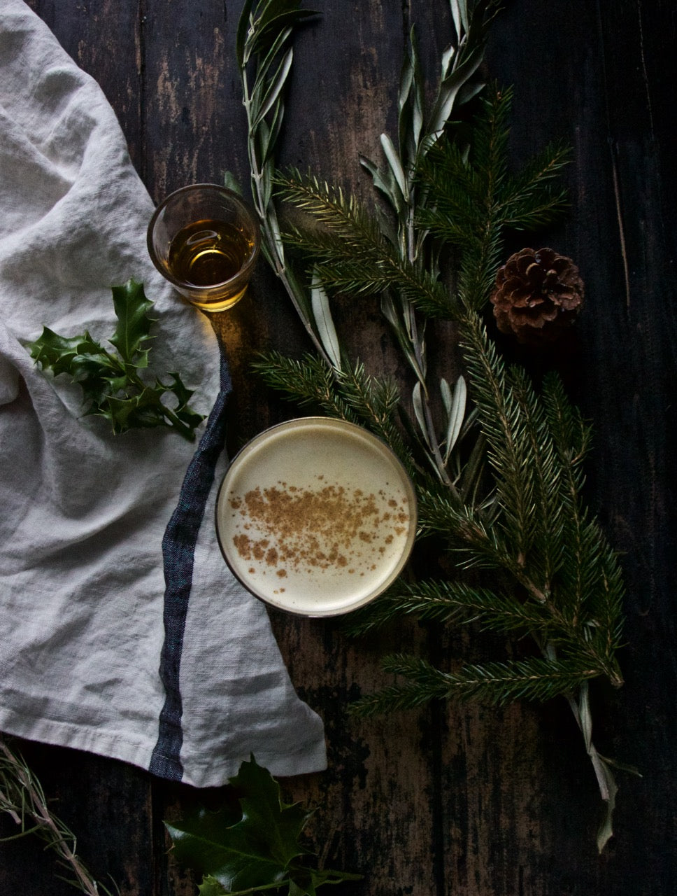 Smokey Irish Eggnog #Christmas #festive #holidays #xmas #recipe #cocktail