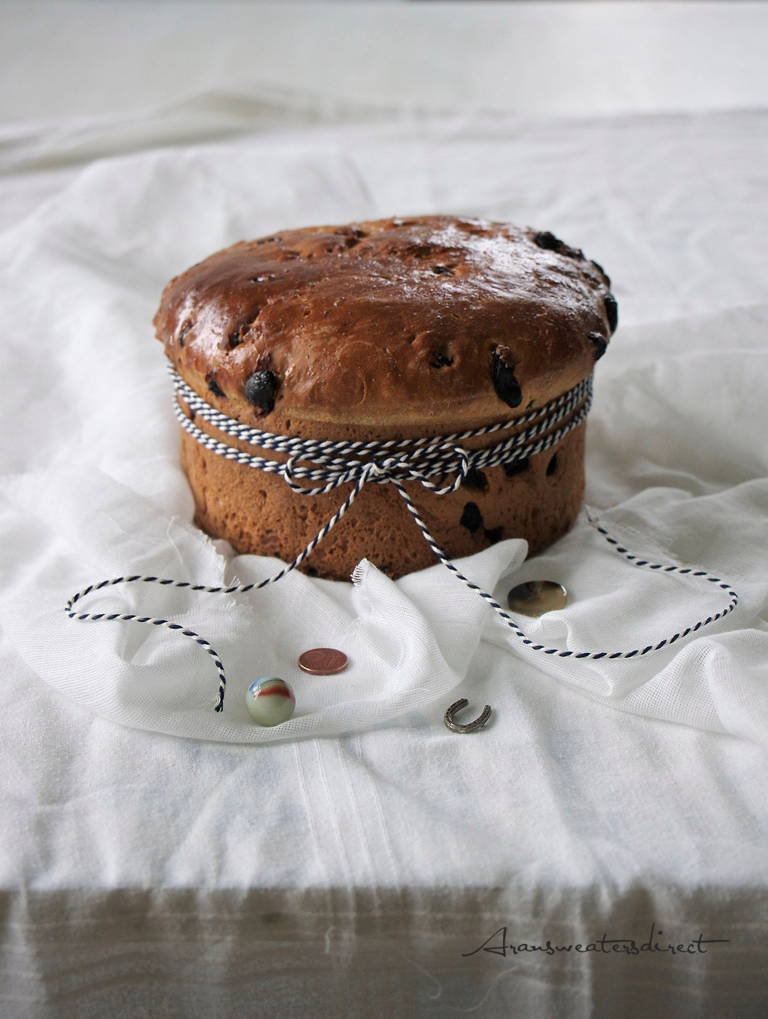 Traditional Irish Halloween Barmbrack #recipe #food