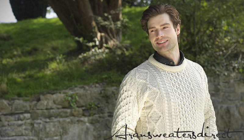 bbca6eeea3e8a3 Fisherman Sweater and Aran Islands – Aran Sweaters Direct