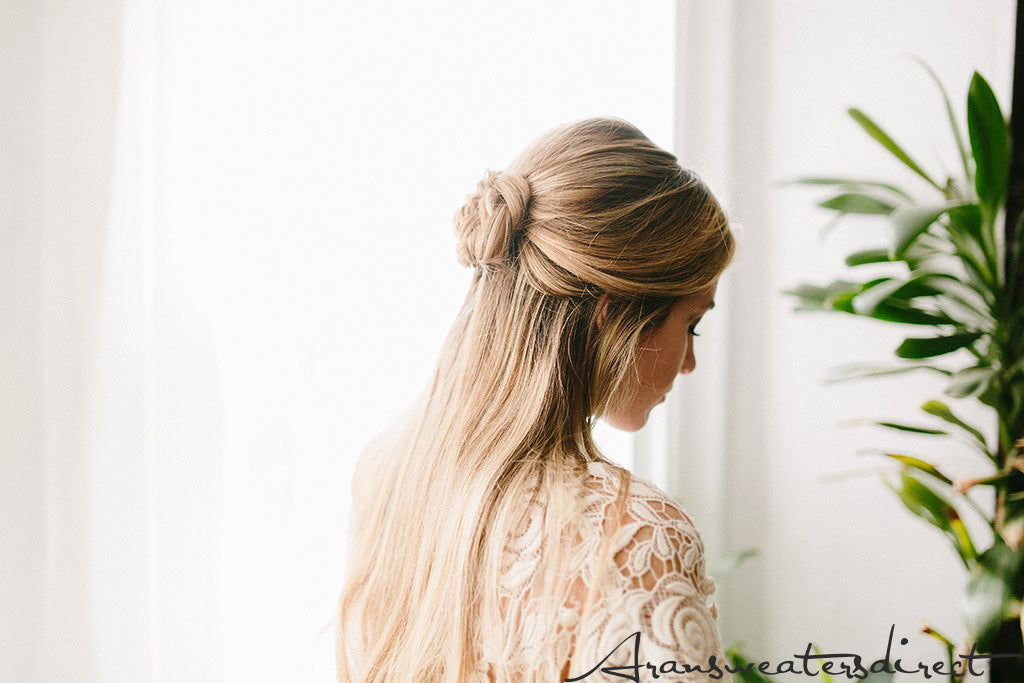The Finished Look: DIY Rose Bun Hair Tutorial #hair #tutorial #bun