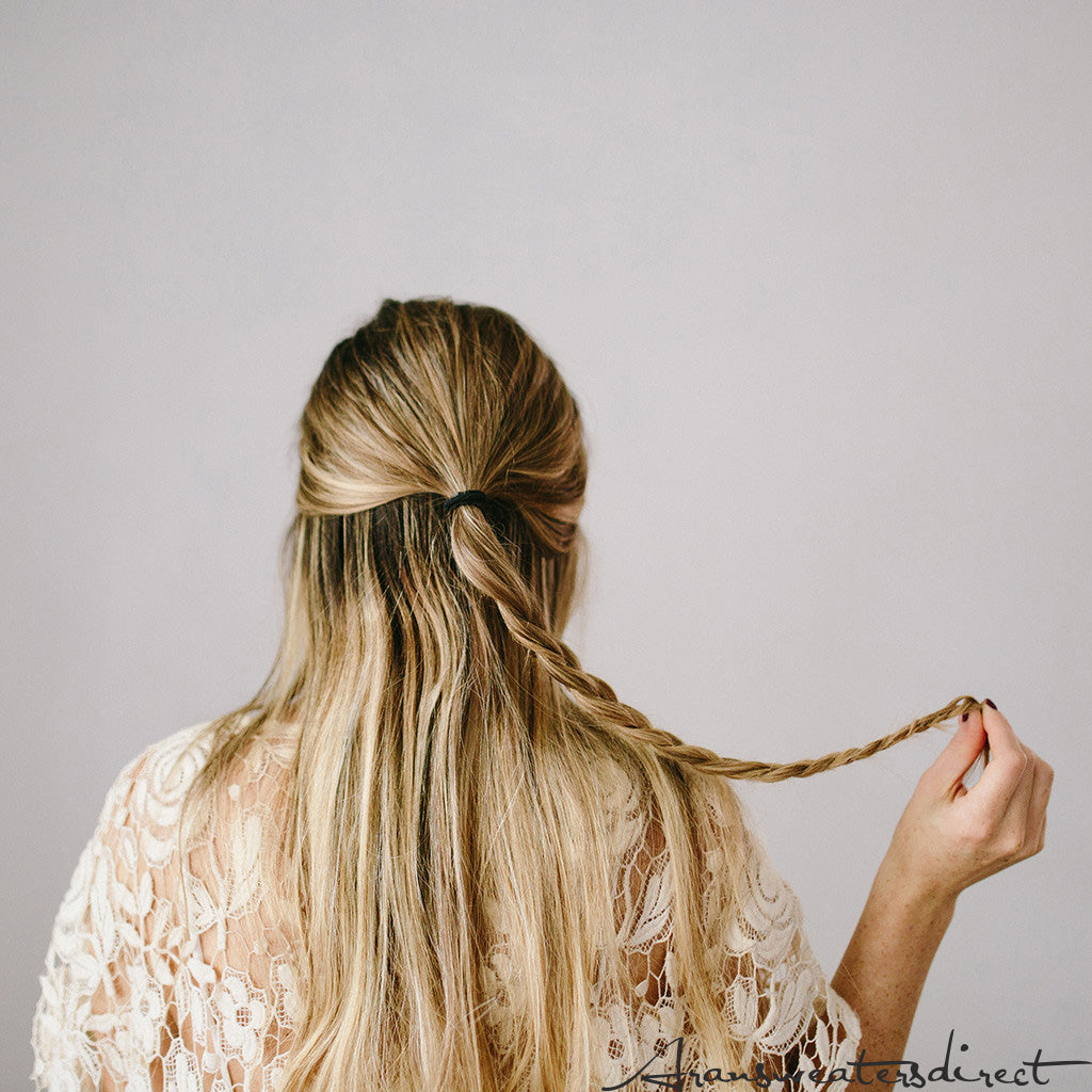 Step Three: DIY Rose Bun Hair Tutorial #hair #tutorial #bun