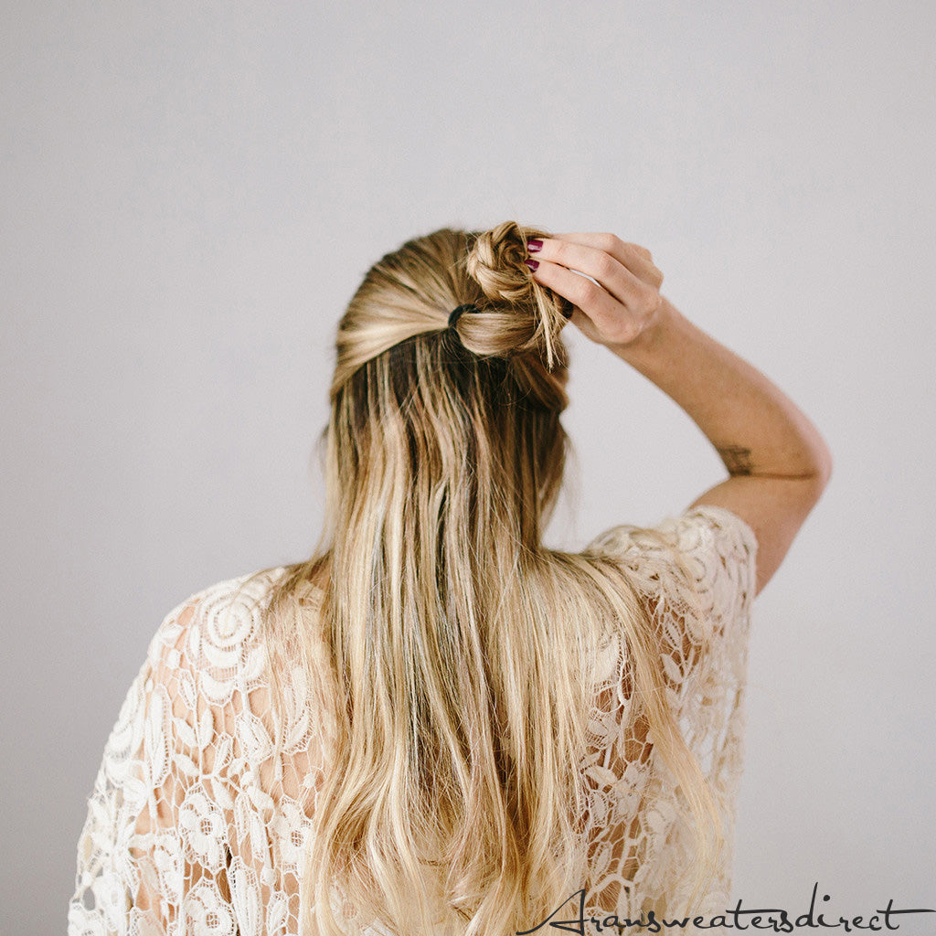 Step Five: DIY Rose Bun Hair Tutorial #hair #tutorial #bun