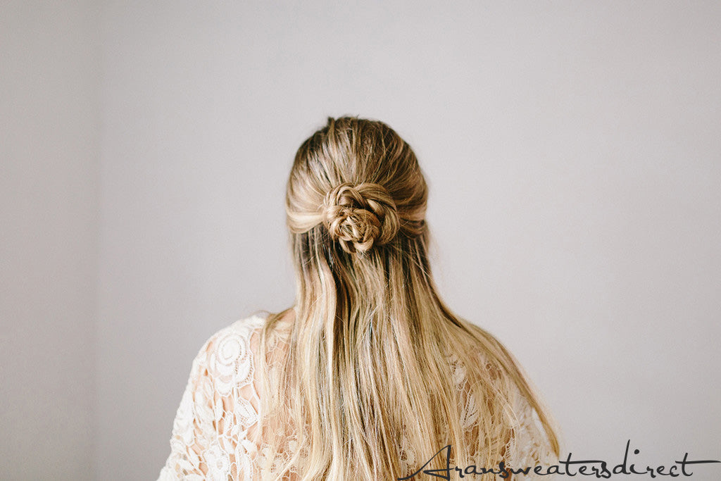Step Six: DIY Rose Bun Hair Tutorial #hair #tutorial #bun