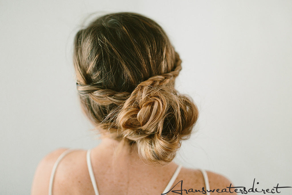 DIY Crown Bun Tutorial: The Final Look #hair #bun #tutorial