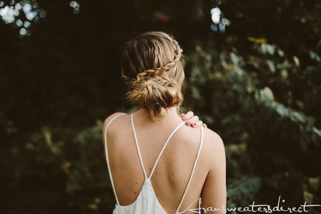 DIY Crown Bun Tutorial #hair #bun