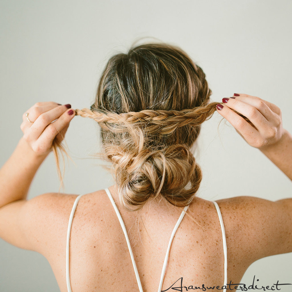 Step Six: DIY Crown Bun Tutorial #hair #bun #tutorial