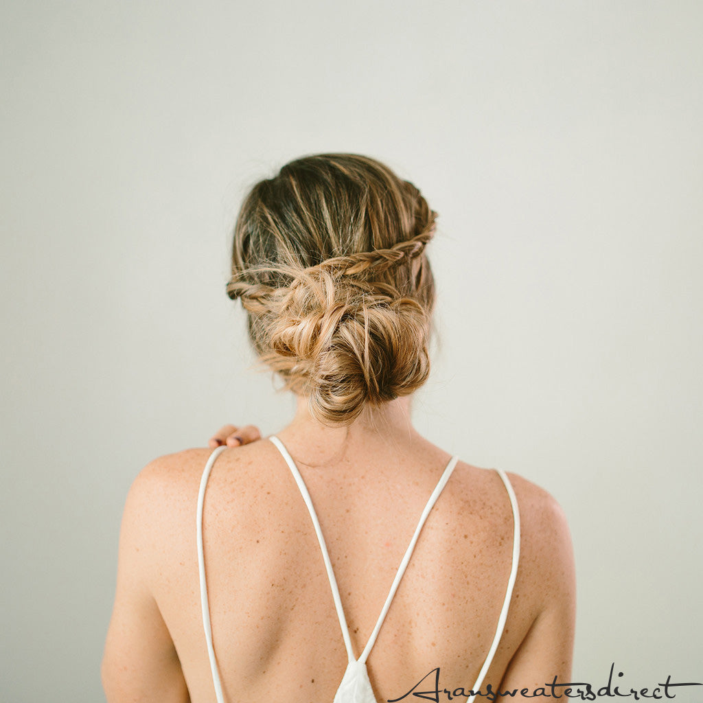 Step Eight: DIY Crown Bun Tutorial #hair #bun #tutorial