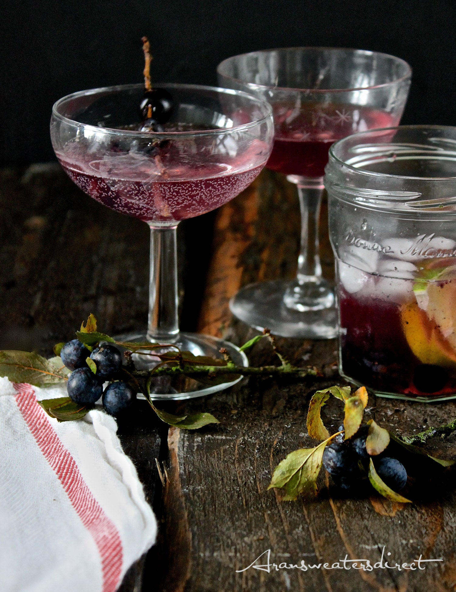 An Irish Hedgerow Martini #cocktail #recipe