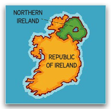 Map Of Ireland Northern Ireland.What Is The Difference Between Ireland And Northern Ireland
