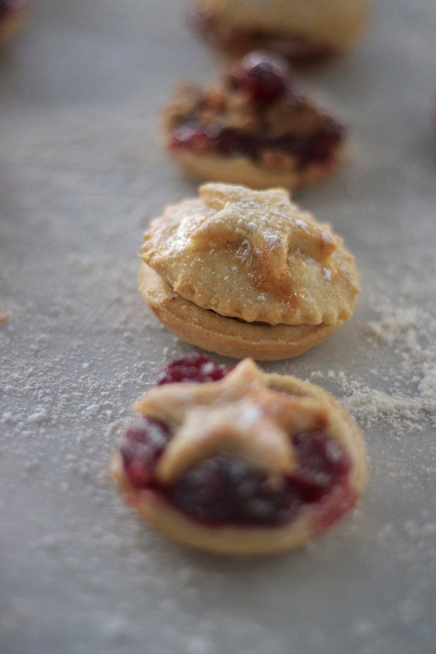Miniature #Christmas mince tarts #xmas #food #recipes