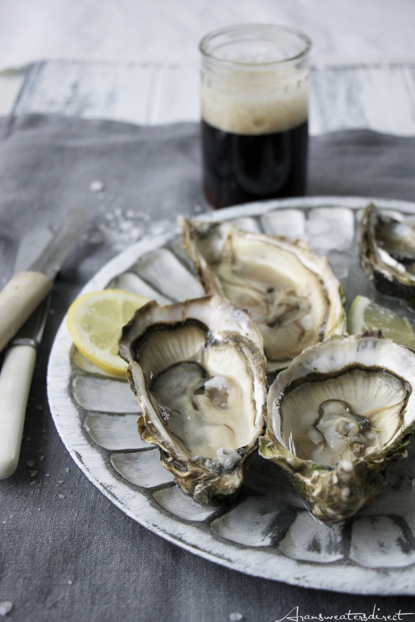 Oysters & Stout - a truly Irish recipe #Oyster #Stout #Recipe