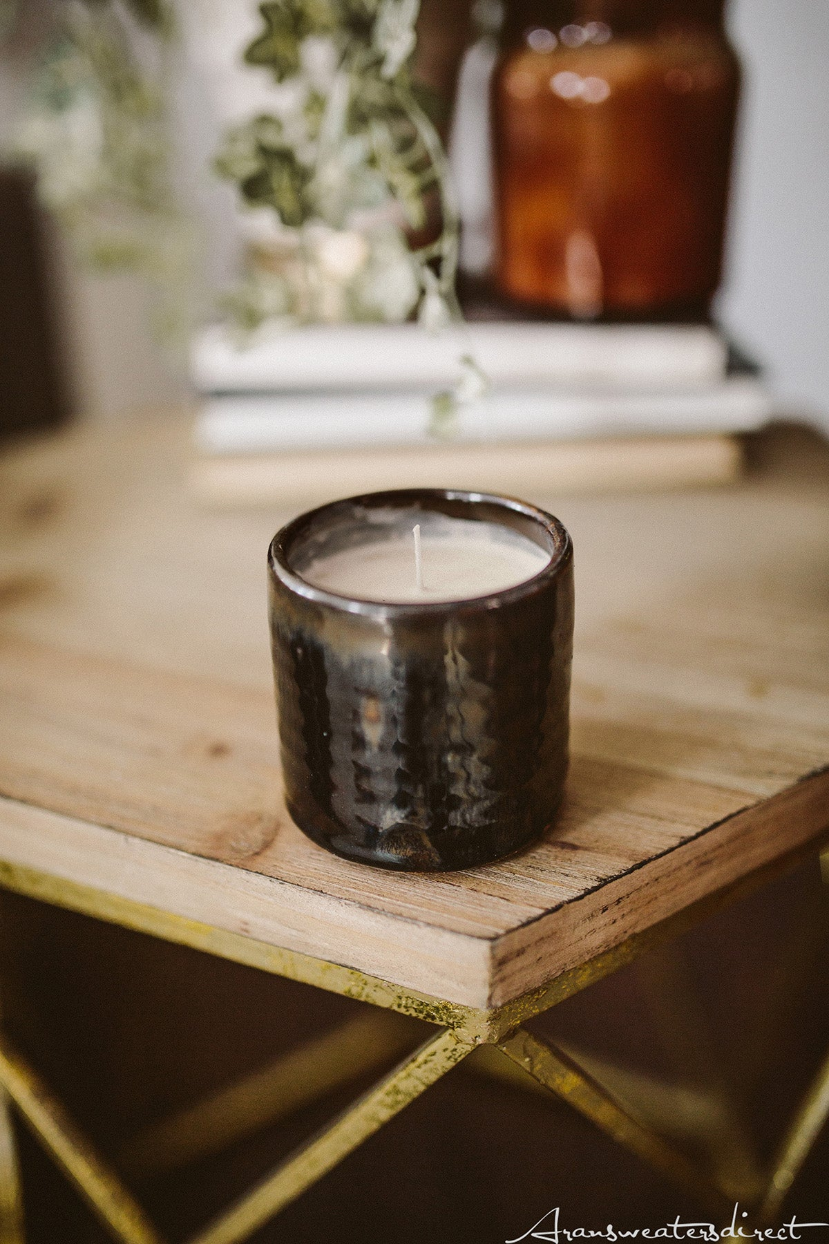DIY Peppermint Mocha Candle #diy #home