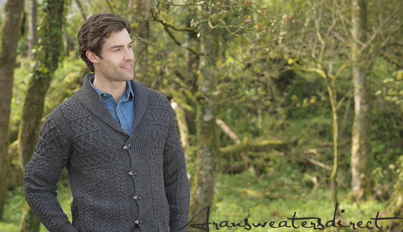 Aran Sweaters: Where no two sweaters will have the same pattern. #Aran #Sweater