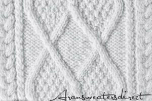 Every single stitch of an Aran Sweater has its meanings. #Aran #Sweater