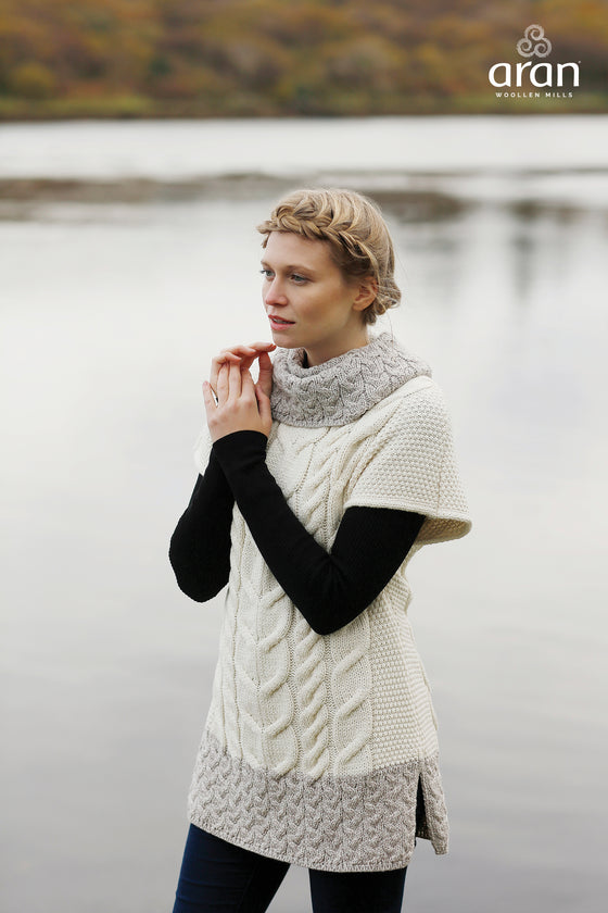 Slipover Cowl Neck Sweater